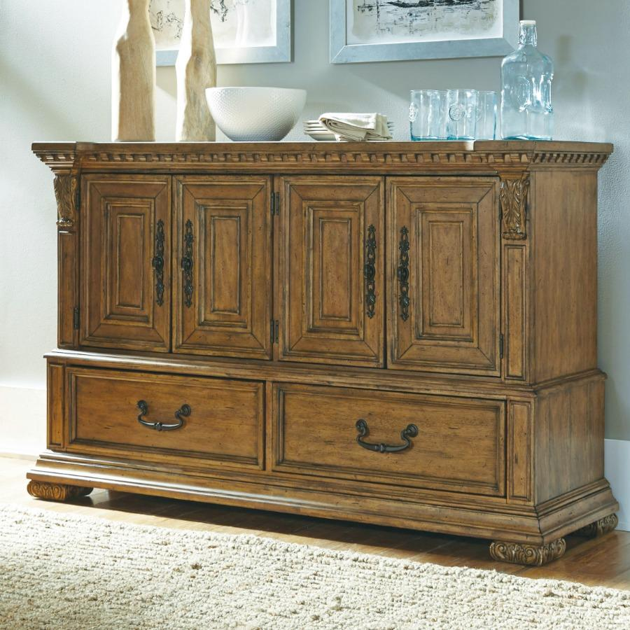 pulaski stratton sideboard buffets sideboards. Black Bedroom Furniture Sets. Home Design Ideas