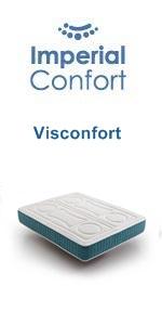 Imperial Confort ViscoBayscent - Colchón Visco Grafeno de ...