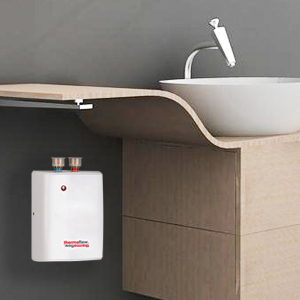 electric tankless water heater under sink