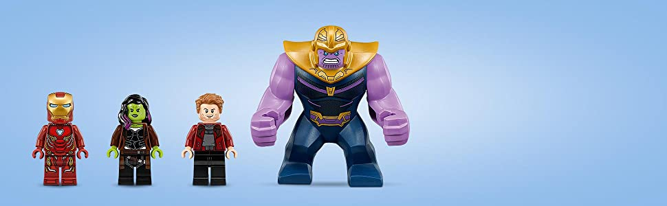 NEW MARVEL GUARDIAN OF THE GALAXY INFINITY GAUNTLET MINIFIGURE USA SELLER LEGO