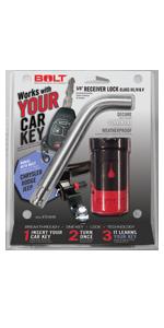 "Dodge Jeep Ram 5/8"" Receiver Lock"