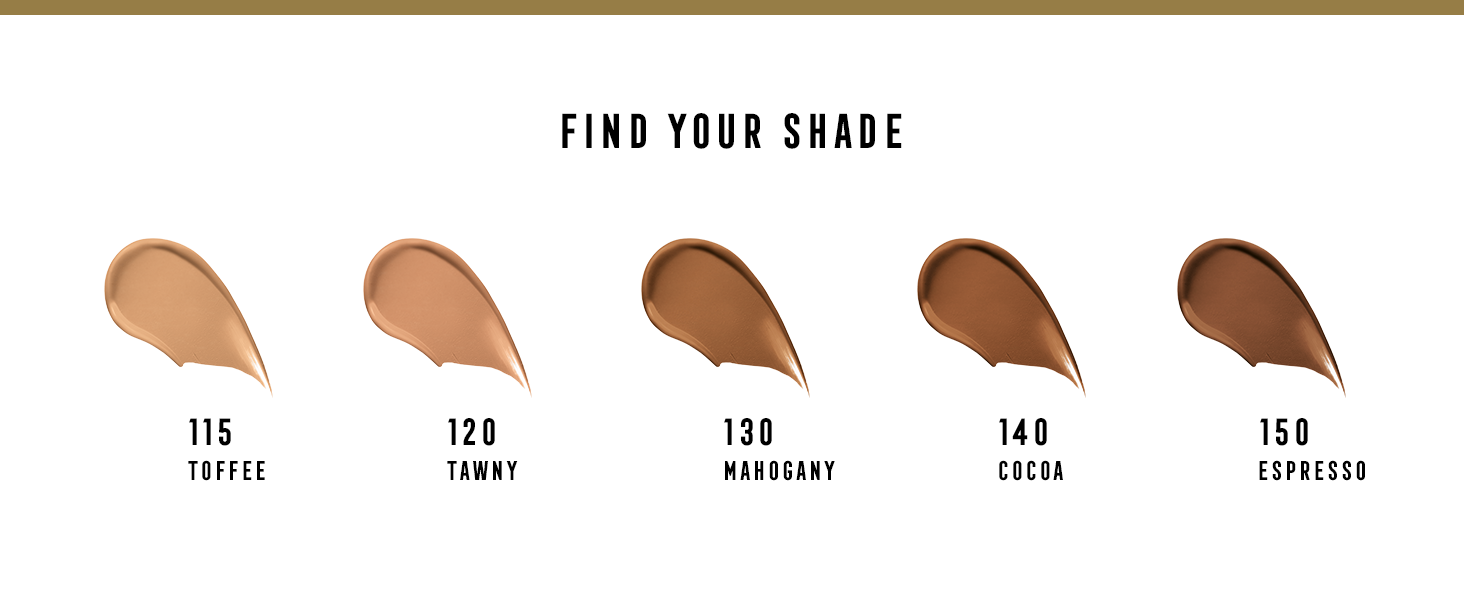 Find your shade