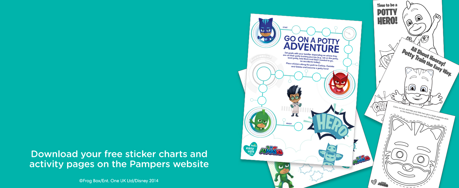 Download your free sticker charts