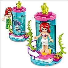 LEGO, Disney, Princess, building, Ariel, Under the sea, mermaid, Ursula, mini dolls, Flounder