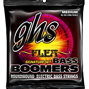 FLEA, RED HOT CHILLI PEPPERS, BASS BOOMERS, BASS STRINGS, GHS, SIGNATURE