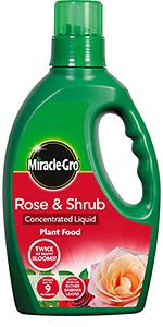 Miracle-Gro Rose & Shrub Concentrated Liquid Plant Food