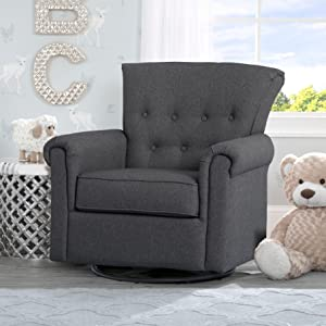 Amazon.com : Delta Children Harper Glider Swivel Rocker Chair ...