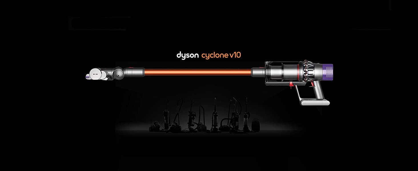 dyson cyclone v10 absolute lightweight cordless stick vacuum cleaner home kitchen. Black Bedroom Furniture Sets. Home Design Ideas