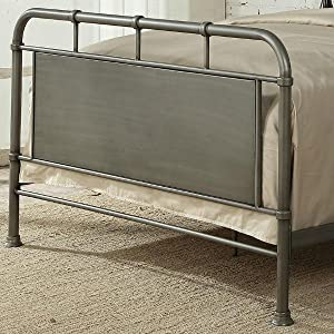 Amazon Com Pulaski Ds D040001 290 Urban Industrial Queen Metal Bed