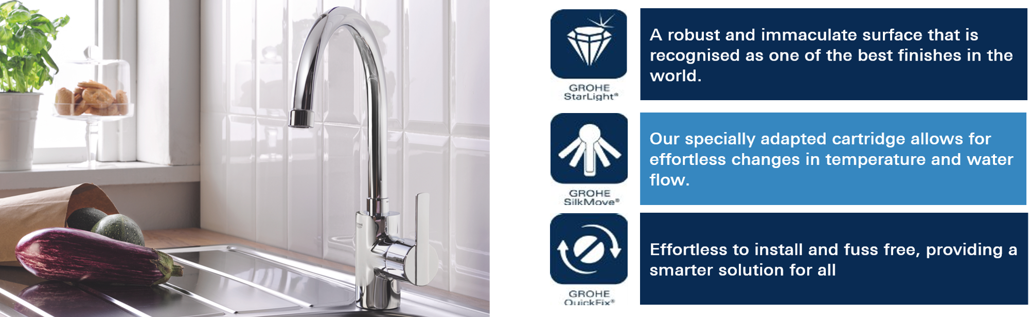 Grohe Feel Kitchen Tap