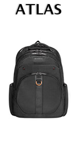 EVERKI Atlas Checkpoint Friendly 11-Inch to 15.6-Inch Laptop Backpack