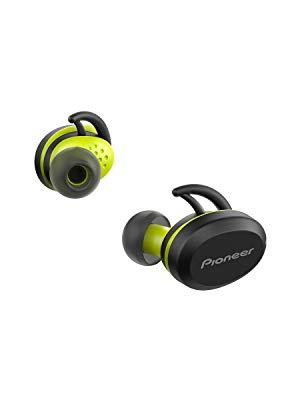 Pioneer E8TW-Y Truly - Auriculares inalámbricos (Bluetooth, in-Ear, Deportes, 3 h de Tiempo de reproducción por Carga), Color Amarillo