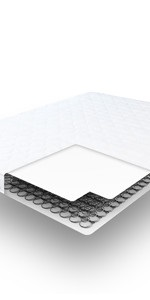 Amazon.com: Classic Brands 4.5-Inch Memory Foam Replacement ...