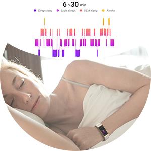 smartwatch monitor científico de sueño