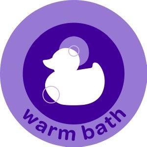 Step 1: Warm Bath