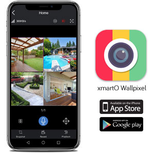 easy remote view and playback on mobiles