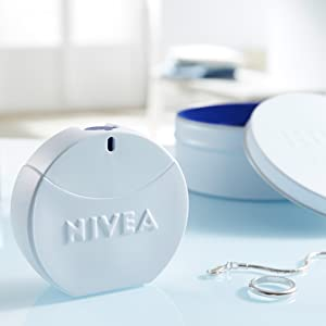 Nivea eau de toilette women's fragrance for women perfume bottle fresh fragrance Nivea cream spray