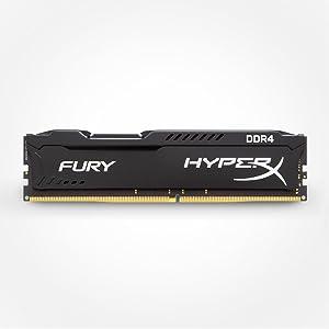 HyperX FURY - Memoria RAM de 8 GB (DDR4, 2666 MHz, CL16, DIMM XMP ...