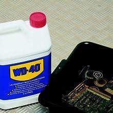 wd40 bain pièces électroniques