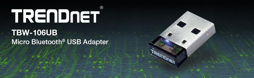 TRENDnet TBW-106UB v2.0R Bluetooth Adapter Drivers Windows 7