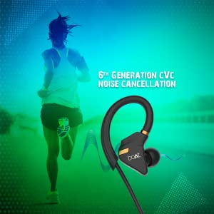 boAt, noise cancellation, mic, multifunction button, ipx 5, bluetooth, exercise, 6th gen CVC