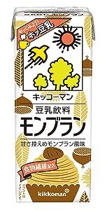 豆乳 モンブラン マロン 栗 豆乳飲料 豆乳大豆