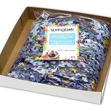 Inside puzzle box, Springbok jigsaw puzzle, unique puzzle design