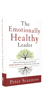 The Emotionally Healthy Leader, hardcover book