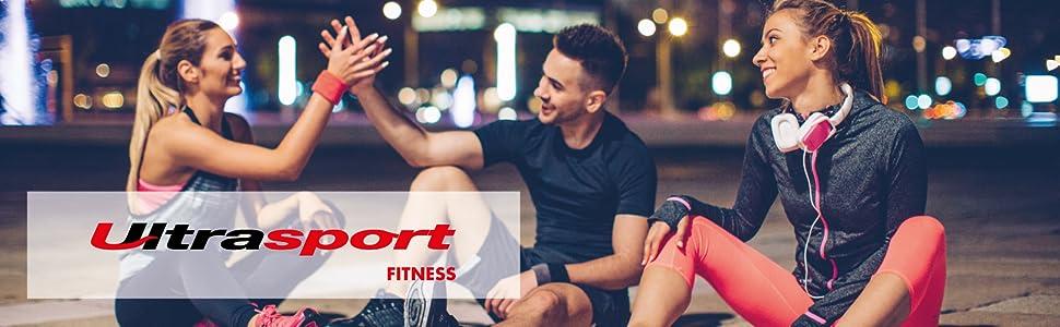 Ultrasport Cama elástica fitness, manillar estable y suspensión ...