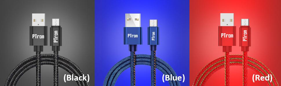 pTron Indigo USB to Micro USB Cable