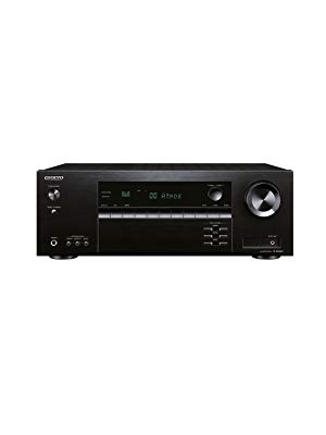 Onkyo TX-SR494(B) MMP - Receptor AV 7.2 Canales (Dolby/DTS:X, AccuEQ, AccuReflex, 4K, Bluetooth, 160 W/Canal), Color Negro