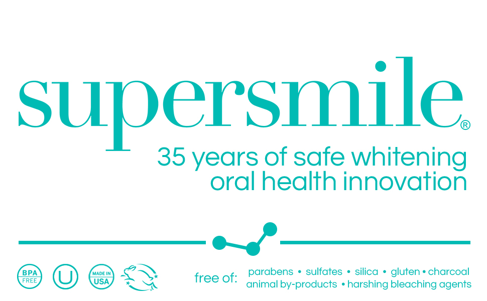 supersmile 35 years of safe whitening oral health innovation