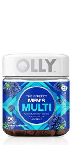 olly mens multi vitamin