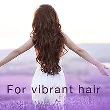 Lavender vibrant hair