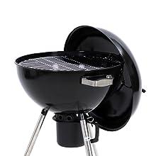 Kamino BBQ Balle Barbecue sur roues avec pliante charnière Barbecue charbon de bois barbecue