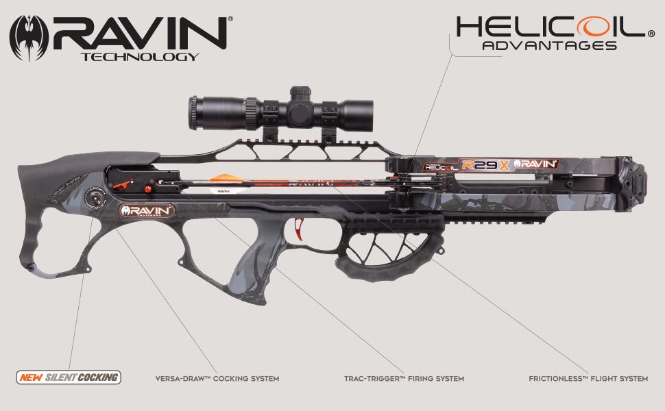 Ravin Crossbow Crossbows Cross Bow R29 R29X Sniper