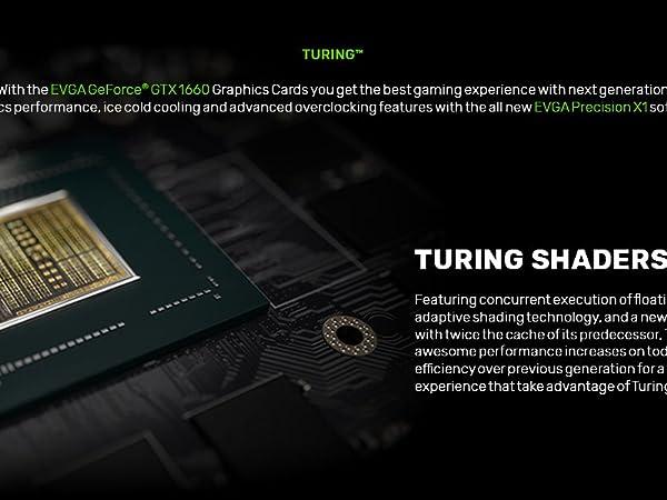 Amazon com: EVGA GeForce GTX 1660 XC, Overclocked, 2 75 Slot