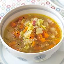 農家の野菜スープ
