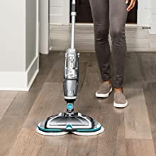 Amazon Com Bissell Spinwave Plus Hard Floor Cleaner And