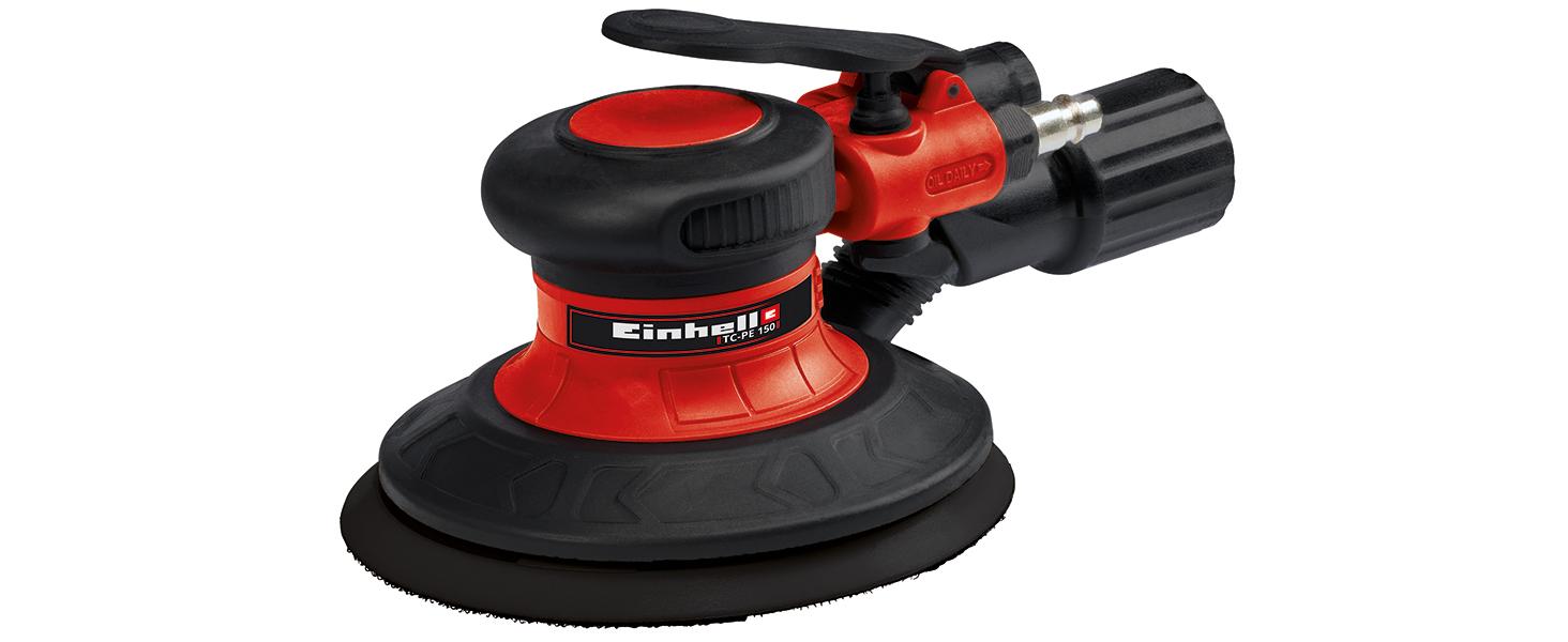 Rouge Noir Einhell 4138540 TC-PP 220 Meuleuse droite /à air comprim/é