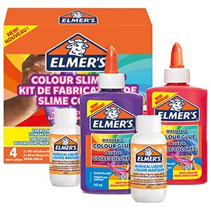 Elmers Kit Slime de Color Opaco, incluido pegamento de PVA ...