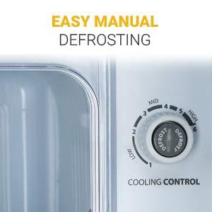 Manual Defrosting