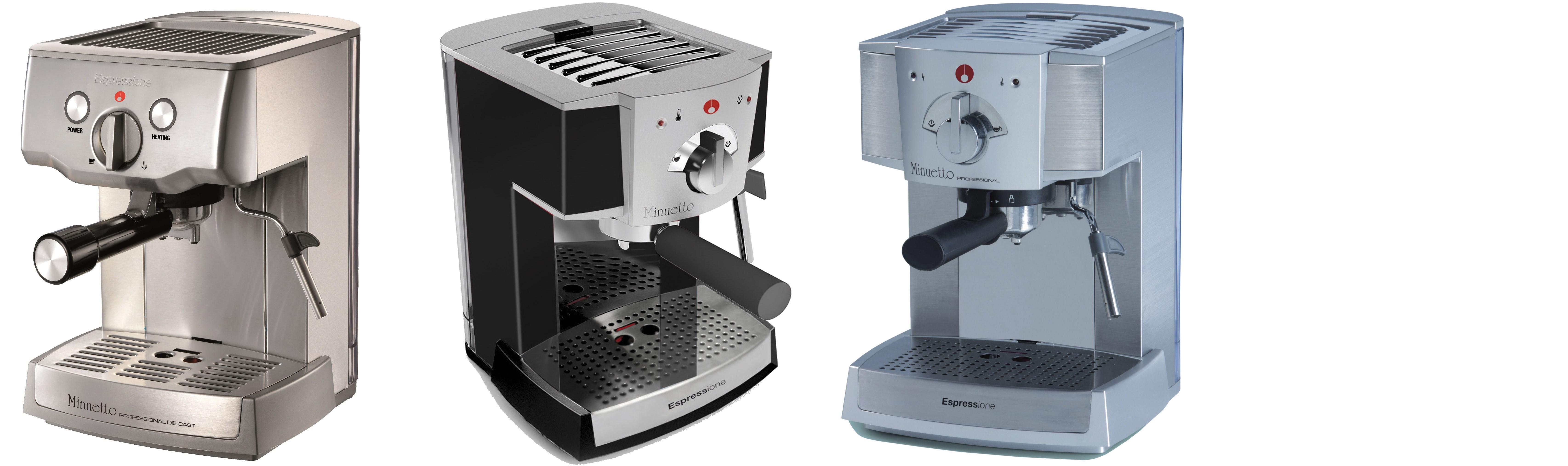 Amazon.com: Espressione Cafe Minuetto, Plateado: Kitchen ...