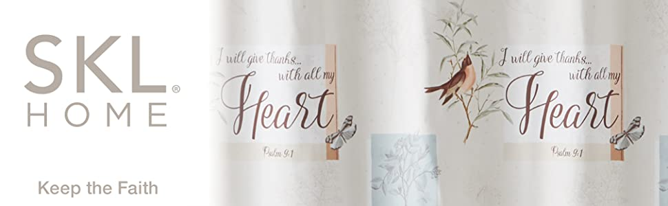 SKL Home New Hope Heart Psalm Butterfly Love Happy