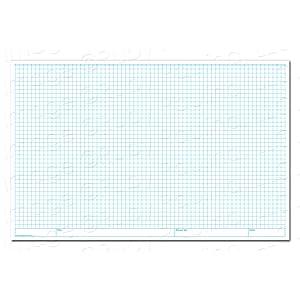 amazon com 11x17 grid pad 1 4 square quadrille graph 576683