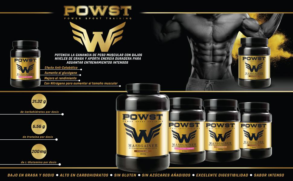 Estimulador Muscular, Suplemento Deportivo para Aumento de ...