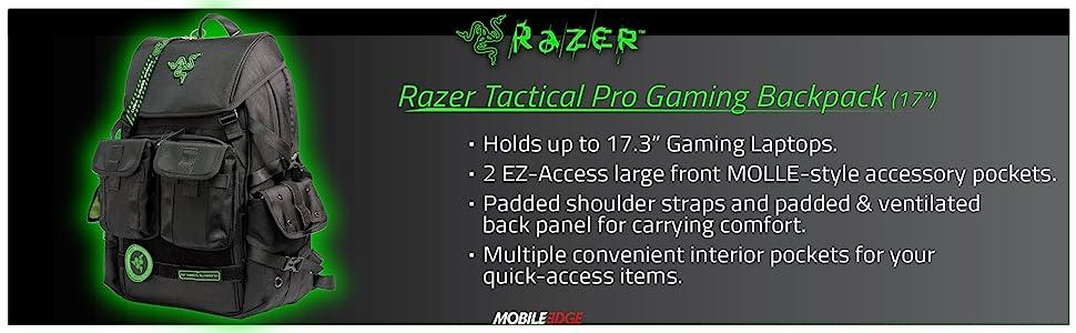 "Razer Pro Gaming Backpack (17"")"