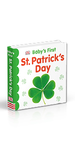 "Book cover for DK's ""Baby's First St. Patrick's Day"""