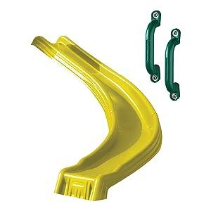 sidewinder, side winder, ws 8339, curved slide, slide for kids, toddler slide, plastic slide