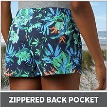 Zippered Back Pocket